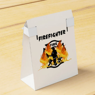 Fire Dept Flames Favor Box