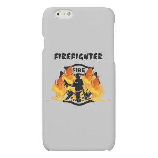 Fire Dept Flames Matte iPhone 6 Case