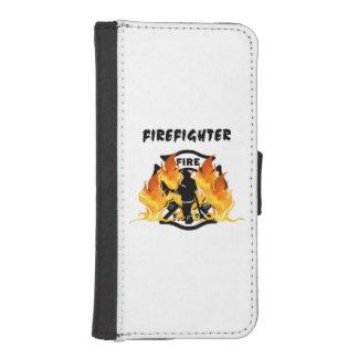 Fire Dept Flames iPhone 5 Wallet