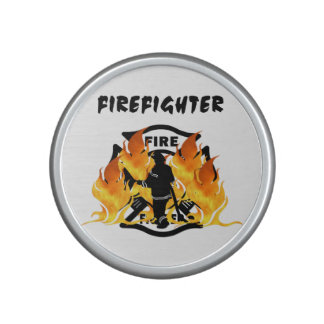 Fire Dept Flames Speaker