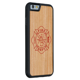 Fire Dept Maltese Cross Cherry iPhone 6/6s Carved Cherry iPhone 6 Bumper Case