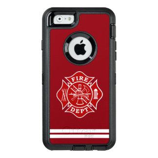 Fire Dept Maltese Cross iPhone 6/6s Case