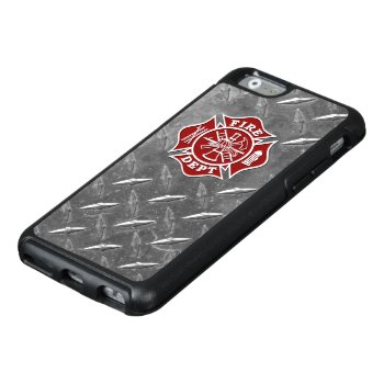 Fire Dept Maltese Cross Otterbox Iphone 6/6s by TheFireStation at Zazzle