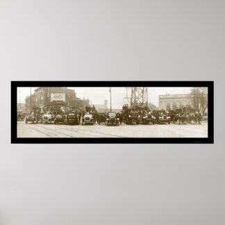 Fire Dept Niagara Photo 1921 Posters