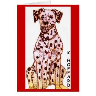Fire Dog Card