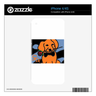 fire dog iPhone 4S decals