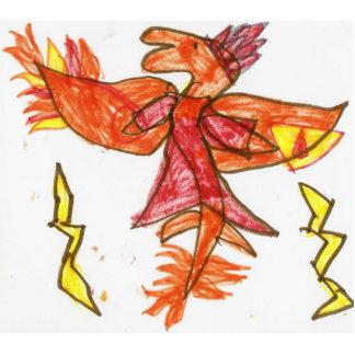 Fire draggy statuette
