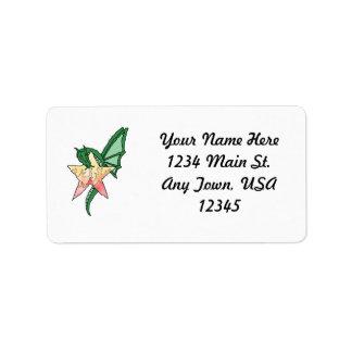 Fire Dragon Address Label