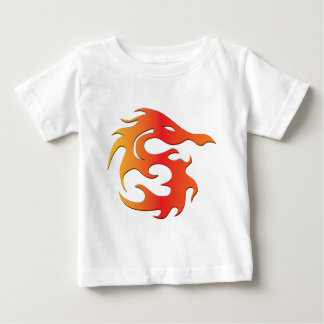 Fire Dragon Baby T-Shirt