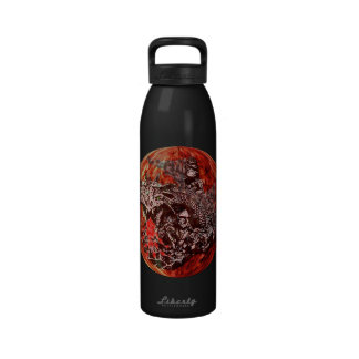 Fire dragon ball water bottle