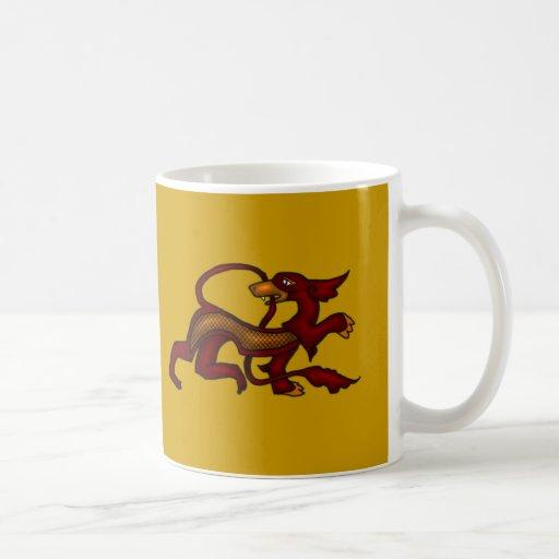 Fire Dragon Coffee Mugs