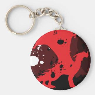 Fire Dragon (Dark Version) Keychain