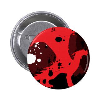 Fire Dragon (Dark Version) Pinback Button