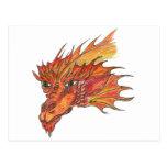 Fire dragon/Fire dragon Post Card