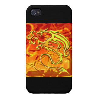 Fire Dragon iPhone 4 Case