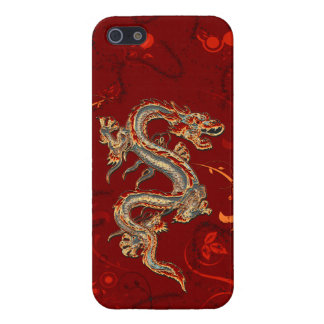 Fire Dragon iPhone 5 Glossy Case