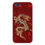 Fire Dragon iPhone 5 Glossy Case Covers For iPhone 5