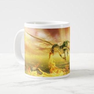 Fire Dragon Jumbo Mug