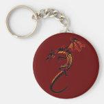 Fire Dragon Key Chain