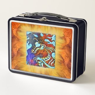 Fire Dragon Lunchbox Personalizable