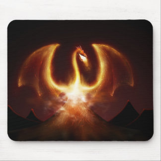 Fire Dragon Mouse Pad