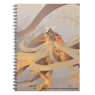 Fire Dragon Painting Notebook