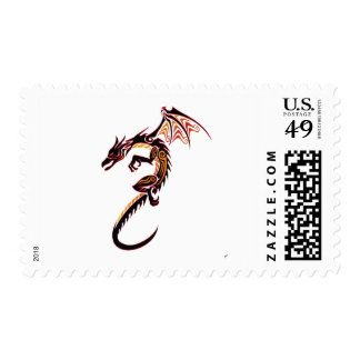 Fire Dragon Stamps
