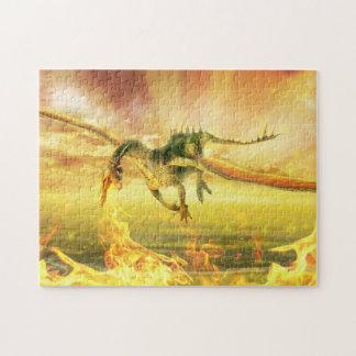 Fire Dragon Puzzle