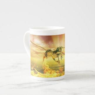 Fire Dragon Tea Cup