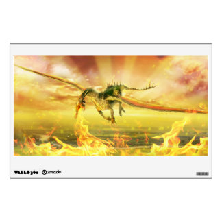 Fire Dragon Wall Decal