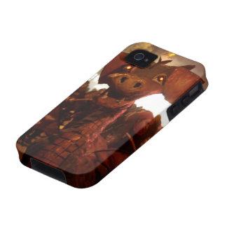 Fire Dragoon - Catalan Monster iPhone 4 Case