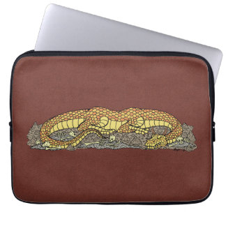 Fire Drake at Rest Laptop Sleeve