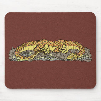 Fire Drake at Rest Mouse Pad