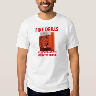 Fire Drills T Shirt
