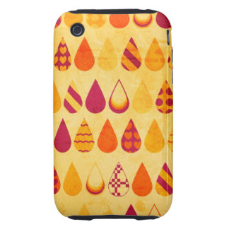 Fire Droplet Tough iPhone 3 Covers