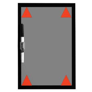 Fire Dry Erase Board