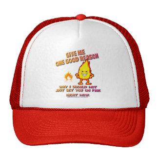 Fire Dude Trucker Hat