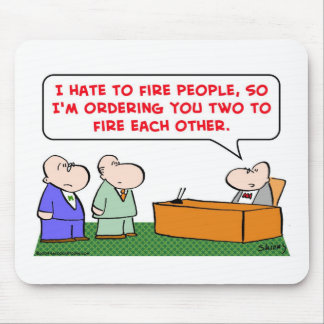 fire each other mouse pad