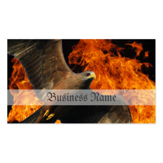 Fire Eagle Double-Sided Standard Business Cards (Pack Of 100)