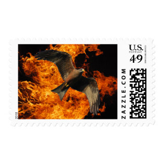 Fire Eagle Stamp