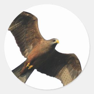 Fire Eagle Classic Round Sticker
