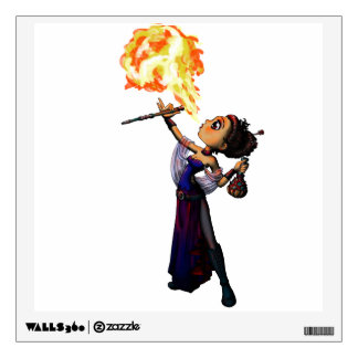 Fire Eater Wall Decal