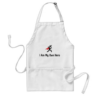 Fire Eating Hero Adult Apron