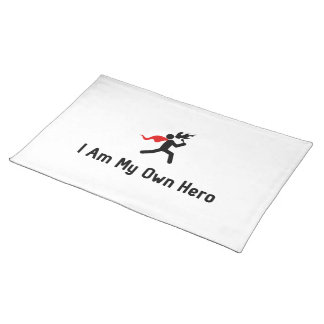 Fire Eating Hero Placemat