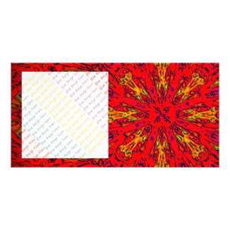 FIRE Element Kaleido Pattern Card