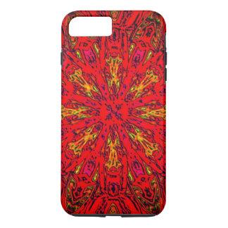 FIRE Element Kaleido Pattern iPhone 8 Plus/7 Plus Case