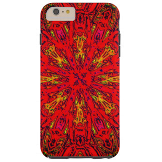 FIRE Element Kaleido Pattern Tough iPhone 6 Plus Case