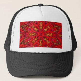 FIRE Element Kaleido Pattern Trucker Hat