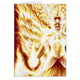 Fire Elemental Card by Nellis Eketorp