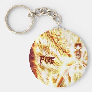 Fire Elemental Key Chain by Nellis Eketorp
